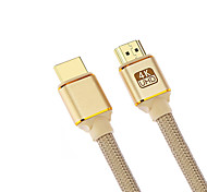 cheap -Cwxuan HDMI 2.0 Connect Cable, HDMI 2.0 to HDMI 2.0 Connect Cable Male - Male 4K*2K Gold-plated copper 1.8m(6Ft)