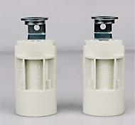 Недорогие -2шт E14 Коннектор лампы Основание светильника Металлические пластик Аксессуары для ламп 70