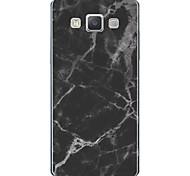 Недорогие -Кейс для Назначение SSamsung Galaxy A7(2017) С узором Кейс на заднюю панель Мрамор Мягкий ТПУ для A3 (2017) A5 (2017) A7 (2017) A7(2016)