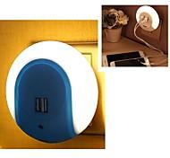 Недорогие -умный светодиодный ночник с датчиком света и адаптером для зарядного устройства для мобильных телефонов iphone 7 6s