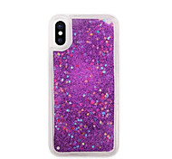 cheap -Case For Apple iPhone X iPhone 8 iPhone 5 Case iPhone 6 iPhone 7 Flowing Liquid Back Cover Camouflage Color Soft TPU for iPhone X iPhone