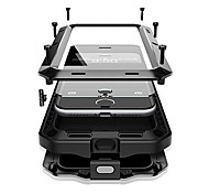 cheap -Case For Apple iPhone X iPhone 8 Plus Water/Dirt/Shock Proof Full Body Cases Armor Hard Metal for iPhone X iPhone 8 Plus iPhone 8 iPhone