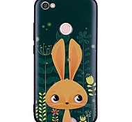 cheap -Case For Xiaomi Redmi Note 5A Redmi Note 4 Pattern Back Cover Rabbit/Bunny Soft Silicone for Xiaomi Redmi Note 5A Xiaomi Redmi Note 4X