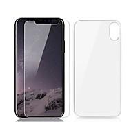 Недорогие -Защитная плёнка для экрана Apple для Закаленное стекло 2 штs Защитная пленка для экрана и задней панели Самозаживление Против отпечатков