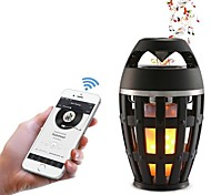 cheap -1pc LED Night Light USB Bluetooth Rechargeable Flickering Emulation Fire Speaker with USB Port Wireless