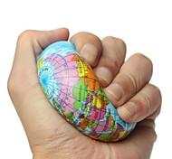 Недорогие -LT.Squishies Earth Globe Planet World Map Надувные мячи / Резиновые игрушки Шары пена 1pcs Мода Универсальные Подарок