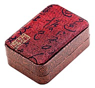 cheap -Jewelry Boxes Cufflink Box Cloth Fabric Square Toast