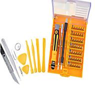 abordables -Teléfono móvil Kit de herramientas de reparación 45 in 1 Cuchillos Pinzas Extensión para destornillador Destornillador Ventosa Plástico /