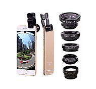 cheap -Mobile Phone Lens Fish-Eye Lens / Wide-Angle Lens / Macro Lens Aluminum Alloy 2X 0.01m 30 High Definition