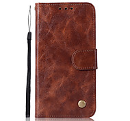 cheap -Case For Motorola G5 Plus Card Holder Wallet with Stand Flip Full Body Solid Color Hard PU Leather for Moto X4 Moto G5s Plus Moto G5s