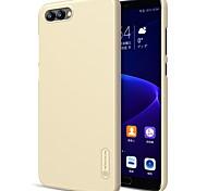 abordables -Funda Para Huawei Honor View 10(Honor V10) Honor 9 Lite Congelada Funda Trasera Color sólido Dura ordenador personal para Huawei Honor 9