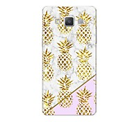 cheap -Case For Samsung Galaxy A7(2017) A5(2017) Pattern Back Cover Marble Fruit Soft TPU for A3(2017) A5(2017) A7(2017) A7(2016) A5(2016) A8