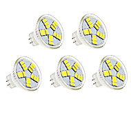cheap -5pcs 3W 350 lm G4 LED Spotlight MR11 15 leds SMD 5730 Decorative Warm White Cold White DC 12V