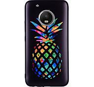 Недорогие -Кейс для Назначение Motorola G5 Plus G5 С узором Кейс на заднюю панель Фрукты Мягкий Силикон для Мото G5 Plus Moto G5 Мото G4 Plus Moto