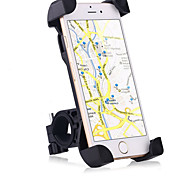 cheap -Motorcycle Bike Mobile Phone Mount Stand Holder Adjustable Stand Mobile Phone Buckle Type Slip Resistant Silicone Holder