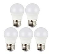 preiswerte -5 Stück 5W 450 lm E27 LED Kugelbirnen 6 Leds SMD 2835 LED-Lampen Warmes Weiß Kühles Weiß Wechselstrom 220-240V