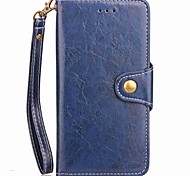 cheap -Case For OnePlus 5 OnePlus 5T Card Holder Wallet with Stand Flip Magnetic Full Body Solid Color Hard PU Leather for One Plus 5 OnePlus 5T