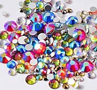abordables -Cristal Mode Haute qualité Quotidien Nail Art Design