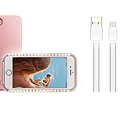 economico -Custodia Per Apple iPhone X iPhone 8 Plus Con LED Per retro Natale Morbido PC per iPhone X iPhone 8 Plus iPhone 8 iPhone 7 Plus iPhone 7