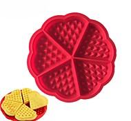 Недорогие -Формы для нарезки печенья Сердце конфеты Для Cookie Для торта Шоколад Печенье силикагель Своими руками День Святого Валентина Новый год