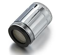 Недорогие -Стильный светодиодный кран, с хромированной отделкой для ванной комнаты