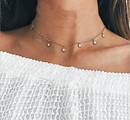 cheap -Women's Star Choker Necklace - Simple Fashion European Star Necklace For Daily