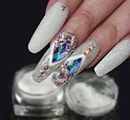 Недорогие -1шт Роскошь Блестящие модный Гель для ногтей Порошок блеска порошок Советы для ногтей Дизайн ногтей