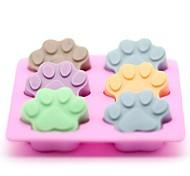 Недорогие -Формы для нарезки печенья Торты Для шоколада Для торта Для Cookie конфеты силикагель Инструмент выпечки День рождения Новый год День