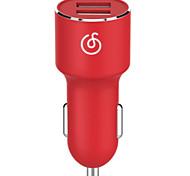 Недорогие -Автомобильное зарядное устройство Телефон USB-зарядное устройство Универсальный USB Несколько портов 2 USB порта 3.1A DC 12V DC 24 В DC 9V