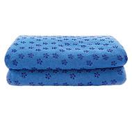 Недорогие -Yoga Полотенца Номера скольжения / Экологию Micro fibre,ECO Friendly resin
