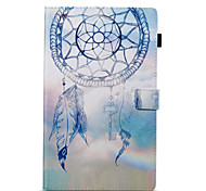 cheap -Case For Amazon Wallet with Stand Flip Pattern Auto Sleep/Wake Up Full Body Cases Dream Catcher Hard PU Leather for Kindle Fire hd 10(7th
