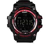 Недорогие -Спортивные часы Пульсомер Водонепроницаемый Педометры Датчик частоты пульса Педометр Датчик для отслеживания активности Датчик для