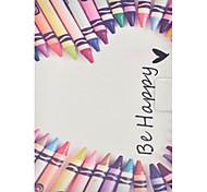 Недорогие -Кейс для Назначение SSamsung Galaxy Tab 3 10.1 Бумажник для карт со стендом Флип С узором Чехол Слова / выражения Твердый Кожа PU для Tab