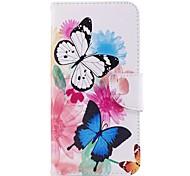 cheap -Case For LG V30 Q6 Card Holder Wallet with Stand Flip Magnetic Full Body Cases Butterfly Hard PU Leather for LG V30 LG V20 LG Q6 LG K10