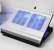 Недорогие -Регулируемая подставка Другое для ноутбука Подставка с охлаждающим вентилятором Алюминий Другое для ноутбука
