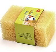 cheap -High Quality 1pc Microfiber Sponge Sponge & Scouring Pad, 11.5*7*3