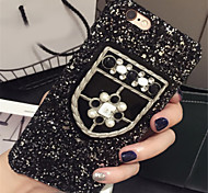 cheap -Case For Apple iPhone 6 Plus iPhone 7 Plus Pattern Back Cover Glitter Shine Hard PC for iPhone 8 Plus iPhone 8 iPhone 7 Plus iPhone 7