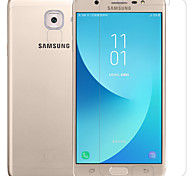 cheap -Screen Protector Samsung Galaxy for J7 Max PET 2 pcs Front & Camera Lens Protector Anti-Glare Anti-Fingerprint Scratch Proof Matte Ultra