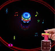 Недорогие -LED освещение Спортивные товары пение Декомпрессионные игрушки Классика ABS смолы Все Подарок 1pcs