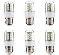 cheap -BRELONG® 6pcs 3W 270lm E14 E26 / E27 LED Corn Lights 24 LED Beads SMD 5730 Warm White White 220-240V