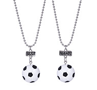 cheap -Men's Pendant Necklace - Fashion Sweet Ethnic Ball White Necklace For Gift Practice