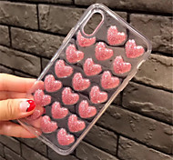 cheap -Case For Apple iPhone 6 Plus iPhone 7 Plus Pattern Back Cover Heart Soft TPU for iPhone 8 Plus iPhone 8 iPhone 7 Plus iPhone 7 iPhone 6s