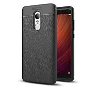 cheap -Case For Xiaomi Redmi 5 Plus Redmi Note 4X Shockproof Back Cover Solid Color Soft TPU for Xiaomi Redmi Note 4X Xiaomi Redmi 5 Xiaomi