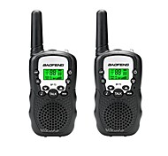 cheap -Walkie Talkie Camping / Hiking / Caving Traveling Wireless Light Weight Plastic 2 pcs