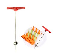 cheap -Stainless Steel DIY Creative Kitchen Gadget Vegetable Fruit Cutter & Slicer, 1pc