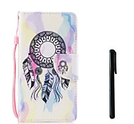 cheap -Case For Huawei P10 Plus P10 Lite Card Holder Wallet Flip Full Body Cases Dream Catcher Hard PU Leather for P10 Plus P10 Lite P10 Huawei