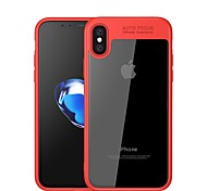 cheap -Case For Apple iPhone X iPhone 8 Mirror Transparent Back Cover Solid Color Soft Silicone for iPhone X iPhone 8 Plus iPhone 8 iPhone 7