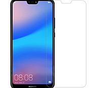 cheap -Screen Protector Huawei for Huawei P20 lite Tempered Glass 1 pc Front Screen Protector Anti-Fingerprint Scratch Proof Explosion Proof 9H