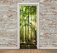 Недорогие -Пейзаж Натюрморт Наклейки Простые наклейки 3D наклейки Декоративные наклейки на стены Дверные наклейки, Винил Украшение дома Наклейка на