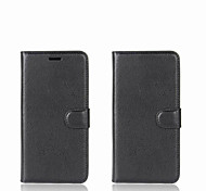 abordables -Coque Pour Xiaomi Redmi 5A Mi Mix Porte Carte Portefeuille Avec Support Clapet Coque Intégrale Couleur unie Dur faux cuir pour Redmi Note